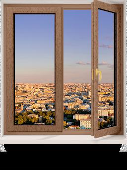 Двустворчатое окно