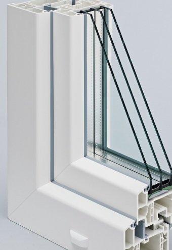 Окна из ПВХ профиля REHAU GENEO